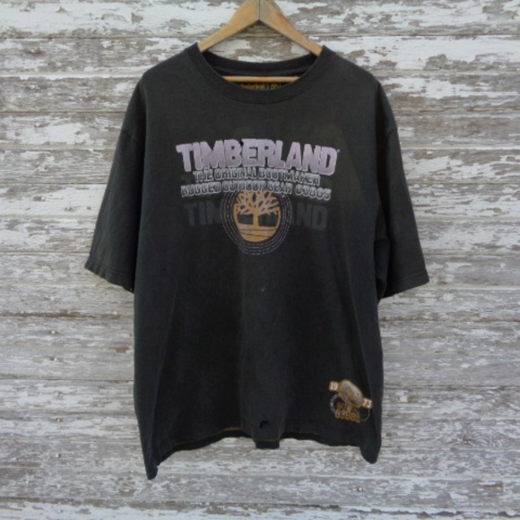 Timberland Other - No. 191 Timberland Distressed Tee Large